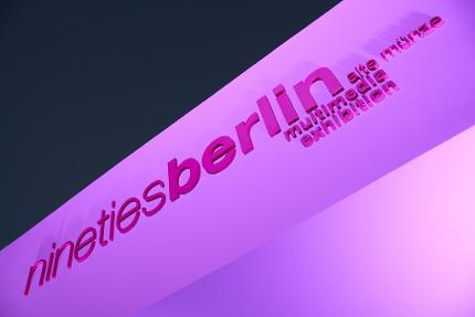 nineties berlin - Multimedia-Ausstellung - Ticket Erwachsene
