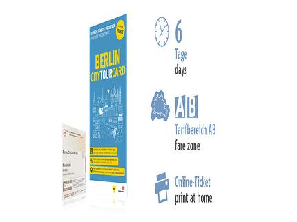 6 days AB | Berlin CityTourCard | Online-Ticket
