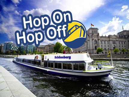 Reederei Riedel - Hop On Hop Off Boat tour Berlin - 24 hours Ticket - reduced (pupil/student)