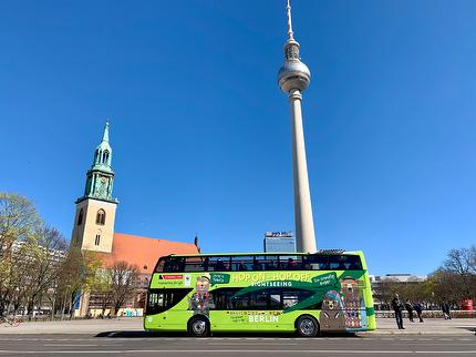 Stromma - Hop On Hop Off Bus tour Berlin - 24 hours- ticket reduced (0-5 years)