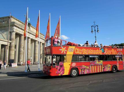 Berlin City Tour - Hop On Hop Off Sightseeing Bustour - A & B Kombi-Tour - 48 Stunden - Ticket ermäßigt (6-14 Jahre)