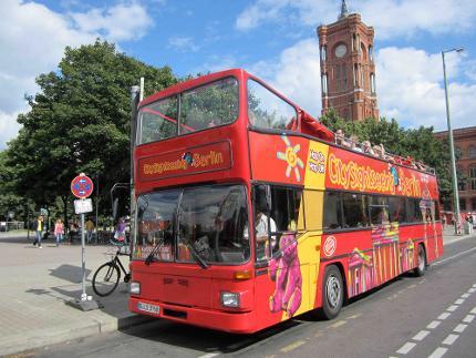 Berlin City Tour - Hop On Hop Off Sightseeing Bustour - Klassische Tour 24 Stunden - Ticket Erwachsener