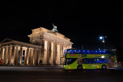 Stromma - Lichterfahrt Berlin - 19:15 Uhr - Bustour zum Lichterfest - Ticket Kind (6-15 Jahre)