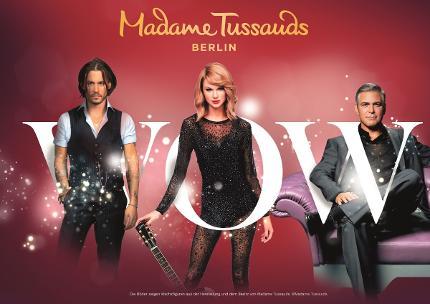 Madame Tussauds - Eintritt mit schnellerem Einlass - Familienticket