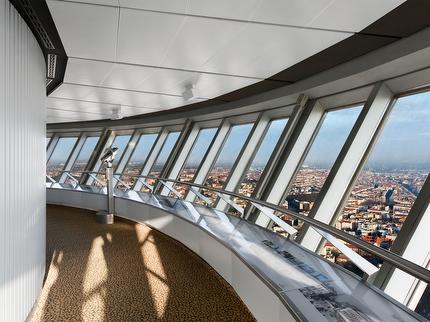 Ticket ohne Anstehen: Berliner Fernsehturm ohne Wartezeit - Fast View Ticket ermäßigt (0-3 Jahre)