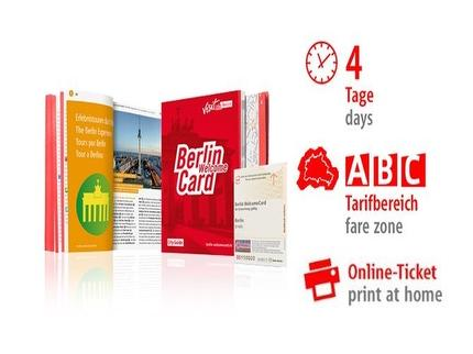 4 Tage ABC | Berlin WelcomeCard | Online-Ticket