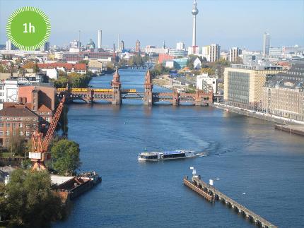 Reederei Riedel - Berliner Mauer Spreefahrt ab East Side Gallery - 1 Stunde - Ticket frei (Kind 0-2 Jahre)