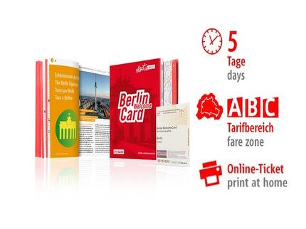 5 Tage ABC | Berlin WelcomeCard | Online-Ticket