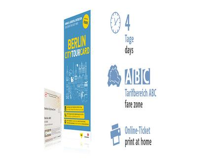 4 Tage ABC | Berlin CityTourCard | Online-Ticket