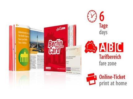 6 Tage ABC | Berlin WelcomeCard | Online-Ticket