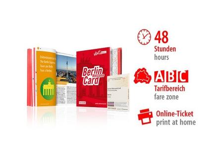 48 Std. ABC | Berlin WelcomeCard | Online-Ticket