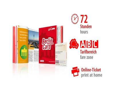 72 Std. ABC | Berlin WelcomeCard | Online-Ticket