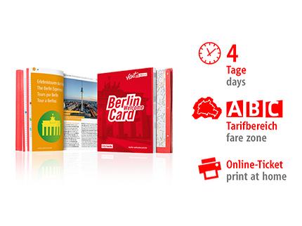 4 Tage ABC | Berlin WelcomeCard | Online-Ticket