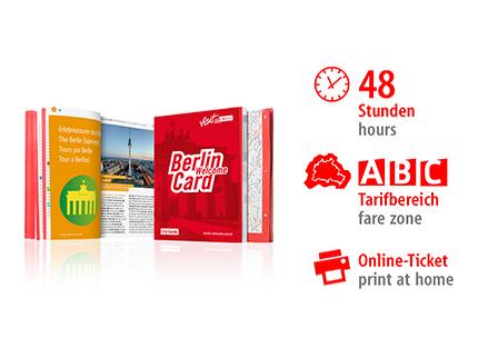 48 Std. ABC | Berlin WelcomeCard | Online-Ticket