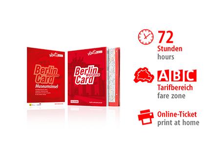 72 Std. ABC | Berlin WelcomeCard Museumsinsel | Online-Ticket