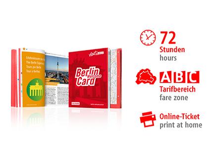 72 hrs ABC | Berlin WelcomeCard | Online-Ticket