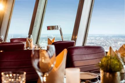 Fernsehturm Berlin: Das höchste Frühstück im Drehrestaurant mit Schnelleinlass