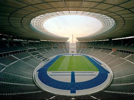Führung: Highlight Tour im Olympiastadion Berlin Guide: Deutsch Familie (2Erw.+2Kind bis 16J.)