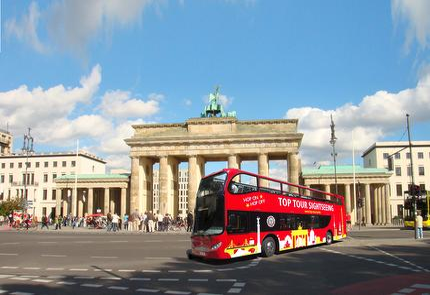 TOP Tour | Hop On - Hop Off Stadtrundfahrt mit dem Bus Familie (2Erw.+3Kinder)