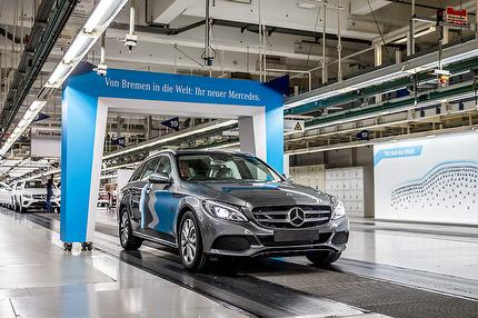Mercedes-Benz factory tour Bremen (German)