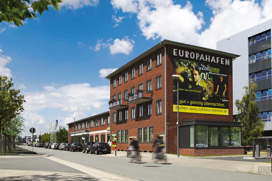 hotel in bremen g nstig buchen zollhaus meet and sleep. Black Bedroom Furniture Sets. Home Design Ideas