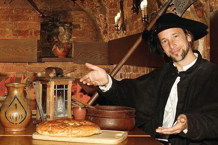 The nightwatchman's feast (German)