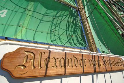 """Bier-Dinner auf der """"Alexander von Humboldt"""""""