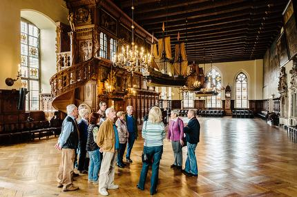 Guided tour of the Town Hall (English)
