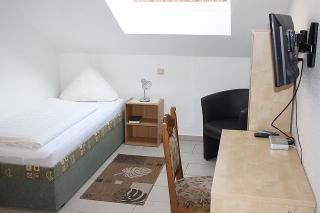 Einzelzimmer Hotel am Kamin