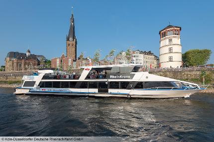 Panoramaschiffstour auf dem Rhein (KD) - Schüler/Student (bis 27 Jahre)