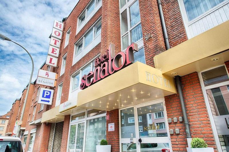 Außenansicht Hotel Senator / Urheber: Hotel Senator / Rechteinhaber: © Hotel Senator