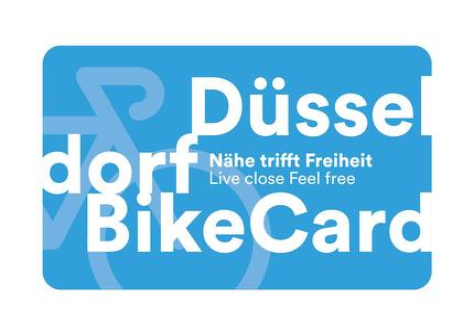 DüsseldorfBikeCard - 24h gültig ab 15:00 Uhr