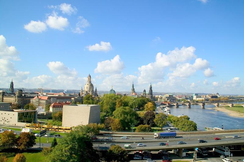 Beste Aussicht der Stadt / Urheber: Hotel am Terrassenufer / Rechteinhaber: © Hotel am Terrassenufer