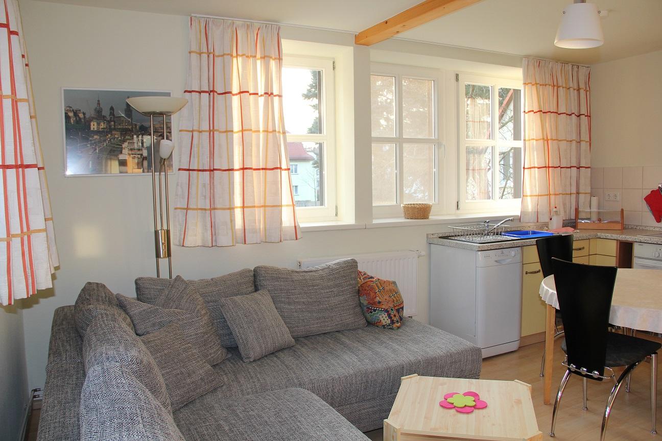 dresdnerferienwohnung - apartment am großen  Ferienwohnung