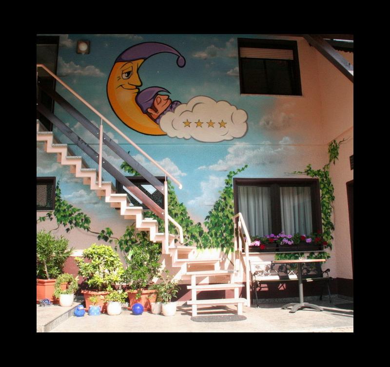 Hausansicht-Innenhof
