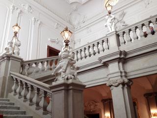Die englische Treppe im Dresdner Schloss / Urheber: Erlebnistouren Dresden Renger / Rechteinhaber: © Erlebnistouren Dresden Renger
