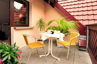 FeWo Klotzsch Balkon