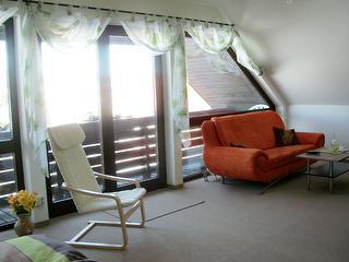 Wohnbereich/ Balkon