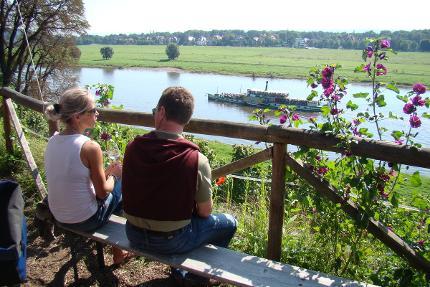 """igeltour: WeinWanderung Loschwitz - Zum Weinberg mit den """"schönsten Blick"""" auf Dresden"""