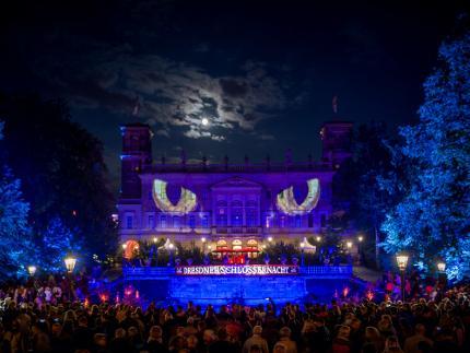 Schlössernacht Dresden - VIP-Ticket - Schloss Albrechtsberg exklusiv, mit Buffet und Begrüßungsgetränk