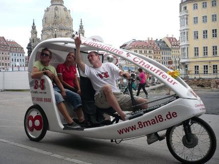 Rikschafahrt Dresden 60 Minuten