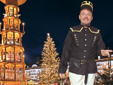 """Dresdner Weihnachtsführung """"Sind die Lichter angezündet"""" - inkl. Kaffee und Stollen"""