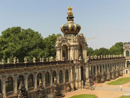 Alte und neue Glanzlichter Dresdens Baustein 4: Zwingerführung mit den berühmten Museen - 13:30 Uhr
