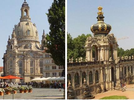 Alte und neue Glanzlichter Dresdens Tagesprogramm C: Altstadtführung & Führung in den Museen im Zwinger 10:30 Uhr