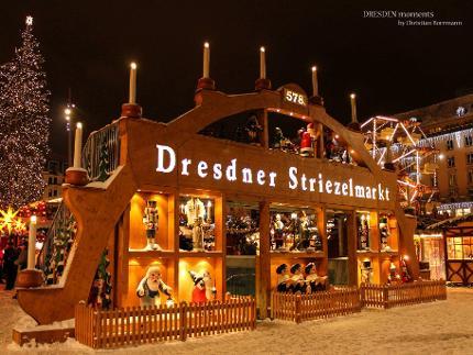 Funkelndes Dresden - Der besondere Adventsrundgang inkl. Stollenprobe und Glühwein