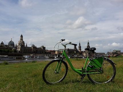 Dresden per Fahrrad entdecken