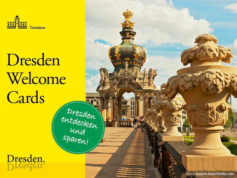 Dresden Welcome Cards / Urheber: Dresden Information / Rechteinhaber: © Dresden Information