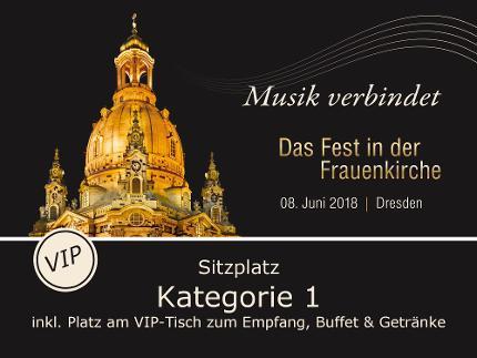 Europ. Kulturpreis VIP-Tischplatz + Ticket Kategorie 1