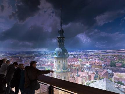 Eintritt in das Panometer Dresden