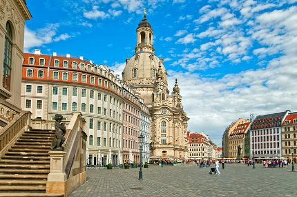 Der historische Stadtrundgang durch Elbflorenz, incl. Zwinger & Besichtigung der Frauenkirche